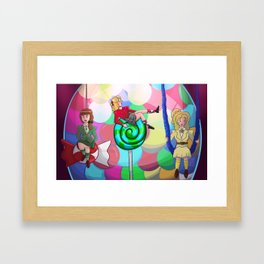 Heathers – Candy Store Framed Art Print