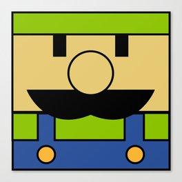 Minimal Luigi Canvas Print