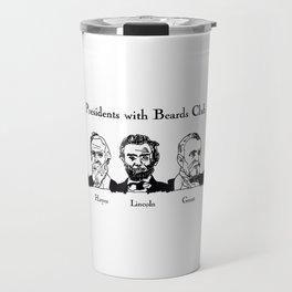 Presidents With Beards Club Travel Mug