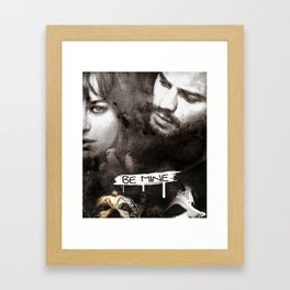 Be mine Framed Art Print