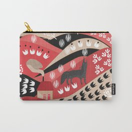 Wolf's Promise Land Carry-All Pouch