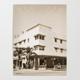 Collins Avenue, Miami Beach Poster