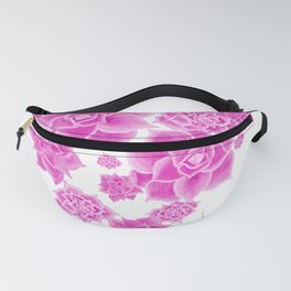Succulents in the Mist  Fanny Pack