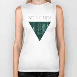 Into The Trees Biker Tank