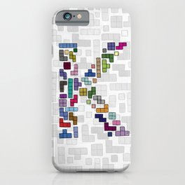 letter k - gaming blocks iPhone Case