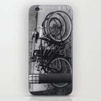 bikes iPhone & iPod Skins featuring Bikes by Ashley Simbulan