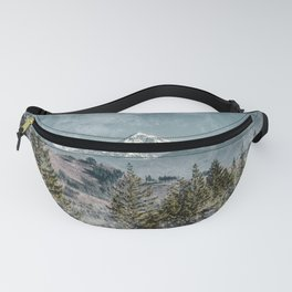 Frosty Mountain - Nature Photography Fanny Pack