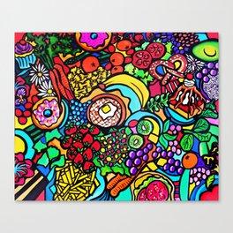 Vegan Paradise Canvas Print