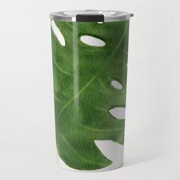 Monstera Leaf Travel Mug