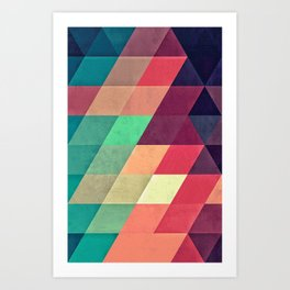 xy tyrquyss Art Print