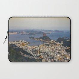 Beautiful Rio de Janeiro at sunset Laptop Sleeve
