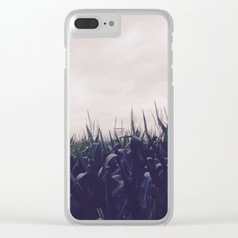 Corn Skies Clear iPhone Case