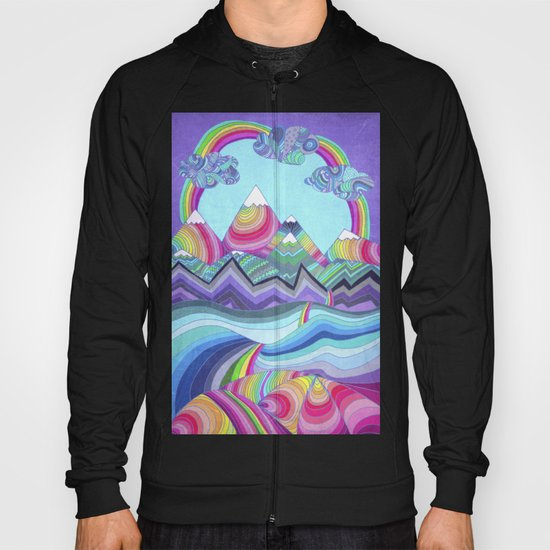 Somewhere Over The Rainbow Hoody