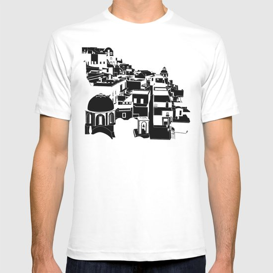 Fira Black and White T-shirt
