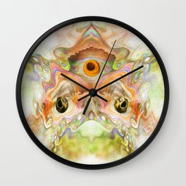 To Kiss a Frog Wall Clock
