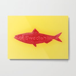 Swedish Fish Metal Print
