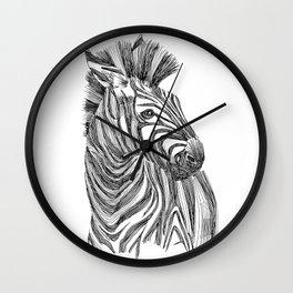 Equus Quagga  Wall Clock