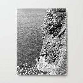 Portrait from a clifftop Metal Print