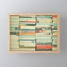 Bookworm II Framed Mini Art Print