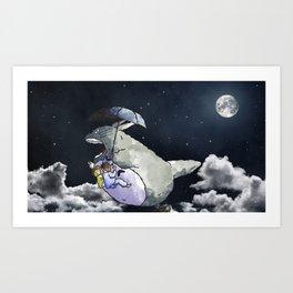 My Neighbor Totor o Art Print
