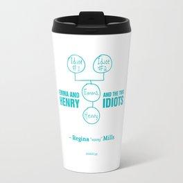 Regina Sassy Mills | The two idiots Travel Mug