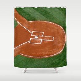 Bassballfield II Shower Curtain
