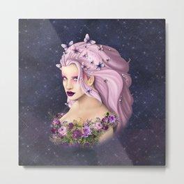 Lilac Summer Metal Print