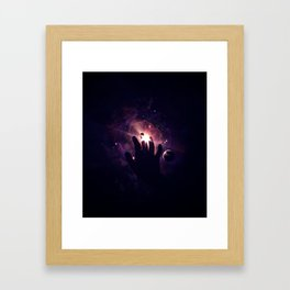 Laying In The Grass Framed Art Print