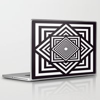 running Laptop & iPad Skins featuring Running Out by Cs025