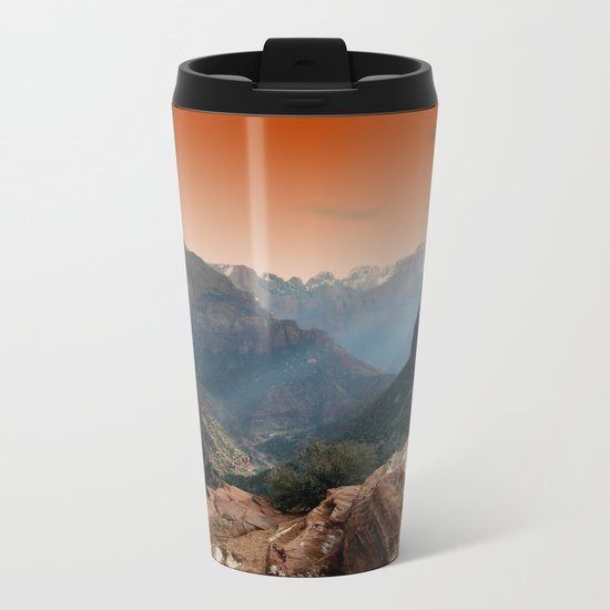 Zion Metal Travel Mug