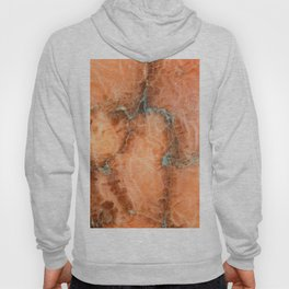 Abstract mineral texture Hoody