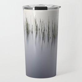 Grass Reeds on the Lake Travel Mug