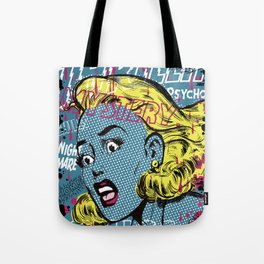 THRILLING MYSTERY Tote Bag