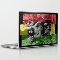 marley Laptop & iPad Skins featuring One Love by Naked N Pieces