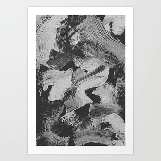 CURVY Art Print