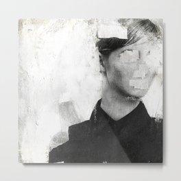 Faceless | number 01 Metal Print