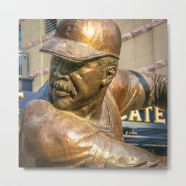 Pittsburgh Pops Baseball Print Metal Print