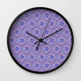 Purple Pop Wall Clock