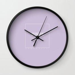 kenny (lilac) Wall Clock