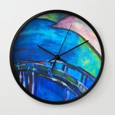 Heart Bridge Wall Clock