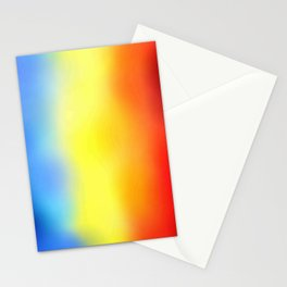 Flag of romania 7 - with cloudy colors Stationery Cards