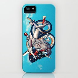 Heart of Illuminati iPhone Case
