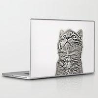kitten Laptop & iPad Skins featuring Kitten by Vicky Lewis