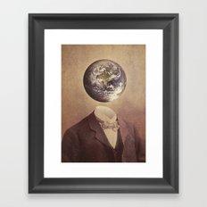 Each Head Is A World Framed Art Print
