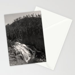 gibbon falls Stationery Cards