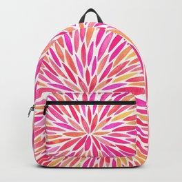 Watercolor Burst – Pink Ombré Backpack