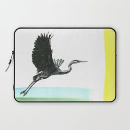 Great Blue Heron Laptop Sleeve