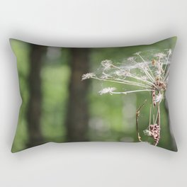 Angelica and forest Rectangular Pillow