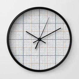 Millimeter Paper Wall Clock