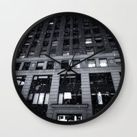 theatre Wall Clocks featuring Paramount Theatre by Benjamin Hunter